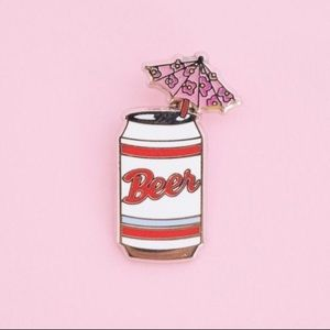 Accessories - Beer enamel Pin